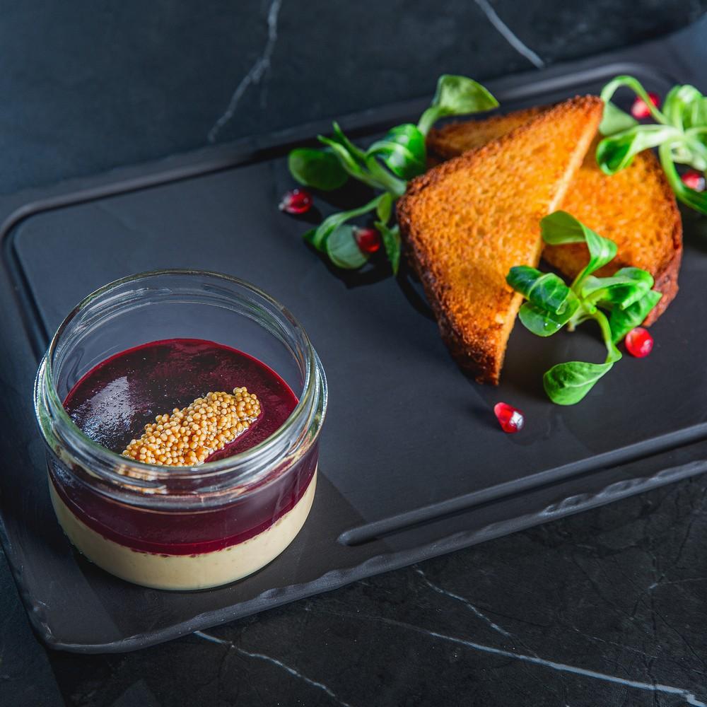Foie gras paštetas